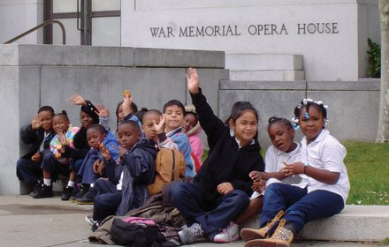 Children's Day at the San Francisco War Memorial Opera House