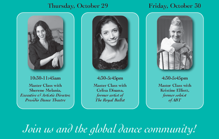 World Wide Ballet Day Master Classes 10/29 & 10/30