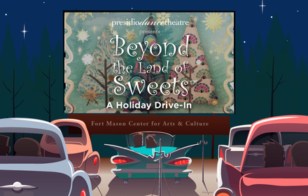 Beyond The Land Of Sweets: A Holiday Drive-In on Dec. 3!